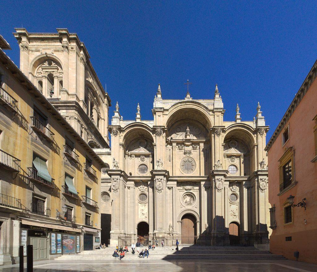 mytravelgram granada andalucia spain Granada Cathedral Front